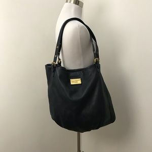 Marc by Marc Jacobs Navy Leather Tote